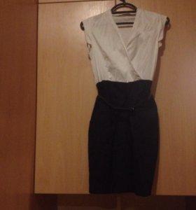 Платье befree р-р 40-42 с поясом