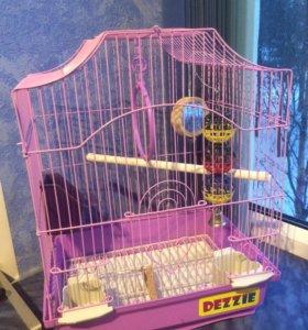 Клетка для мелких и средних попугаев