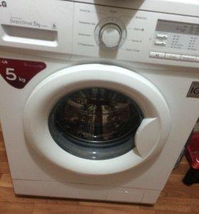 машинка стиральная LG новая
