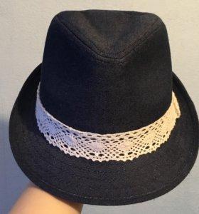 Джинсовая шляпка