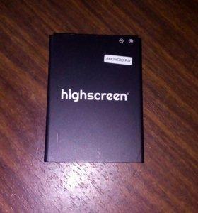 Аккумулятор на телефон Highscreen Verge