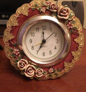 Комплект часы + фото рамочка новые
