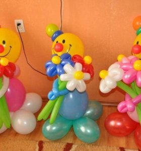 Фигуры из шариков
