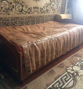 Продам кровать и кресло