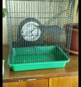 Клетка новая  для хомяка, дегу,крыс