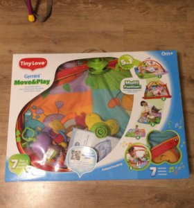 Развивающий коврик для детей!!!