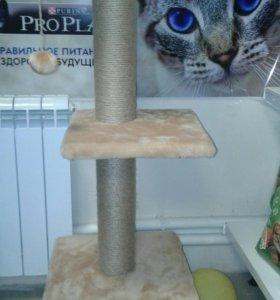 Дом-когтеточка для кошек