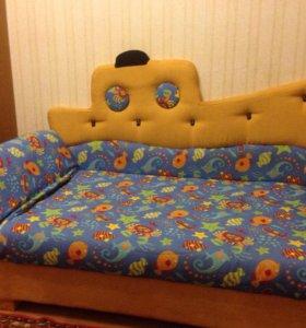 "Детский диван ""Кораблик"""