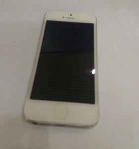 IPhone 5, 16 Gb, Silver