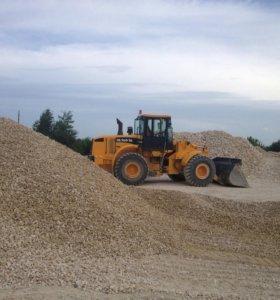 Песок, щебень, гравий и другие сыпучие грузы