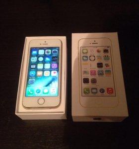 Новый iPhone 5s Gold на 16 GB