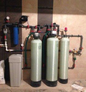 Установка и ремонт водоочистки