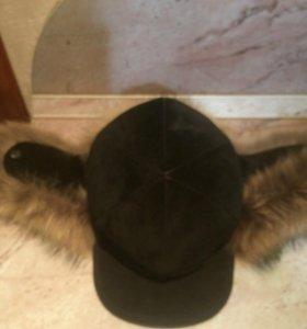 шапка жамша+песец
