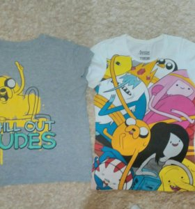 Футболки Adventure Time