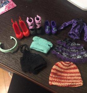 Одежда от и для кукол Monster High