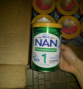Nan кисломолочный 1