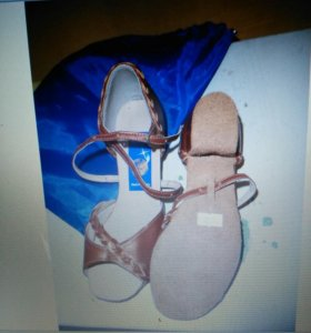 Туфли латино. Размер 35