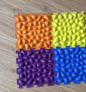 """Массажный коврик """"Цветные камешки"""" М-516"""