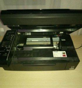 Цветной принтер сканер копир МФУ Epson