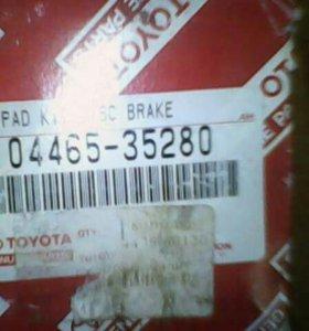 Колодки тормозные Toyota передние оригинал