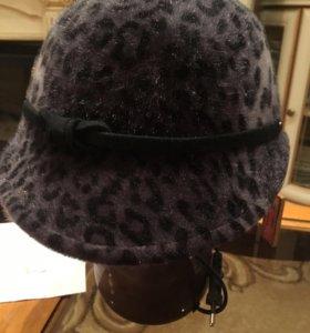 Демисезонная шляпа из искусственного меха 58 разме