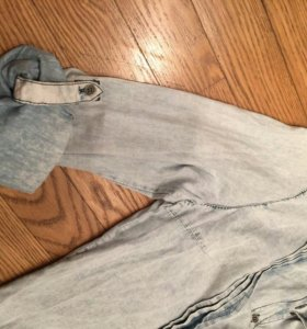 Новая джинсовая рубашка Ulla Popken