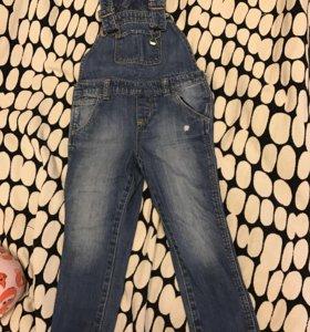 Комбинезон GAP джинсовый детский