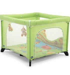 Манеж-кровать Chicco Open Green Playpen.