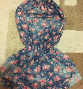 Комбинезон и платье