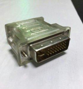 Переходник с VGA на dvi-d