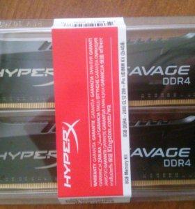 Hyperx Savage ddr4( оперативная память)