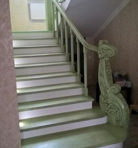 Лестницы, мебель из массива