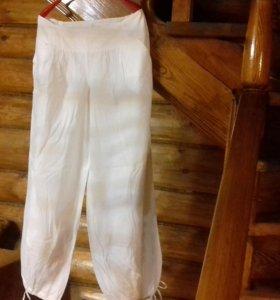 Новые летние белые брюки
