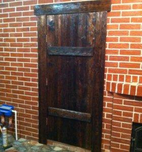 Дверь под старину!