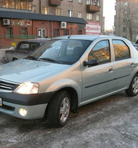 Renault logan grey