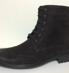 Новые ботинки VS нубук