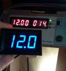 Вольтметр 0 - 30 вольт DC