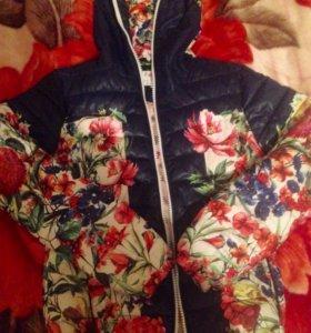 Куртка (осень, весна)- тёплая 🌸🌺