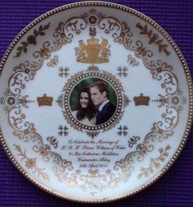Свадьба Кейт Миддлтон и принца Уильяма, Англия