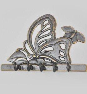 Ключница Бабочка