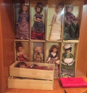 Фарфоровые куклы Дамы эпох