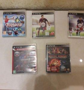 PS3 с играми