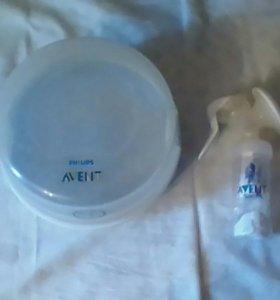 молокоотсос и стерилизатор Avent