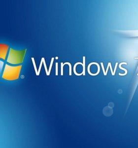 Переустановка,установка windows 7