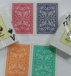 Игральные пластиковые карты Фурнье