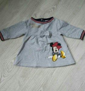 Теплое платье Disney