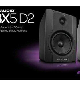 🎼Студийные мониторы M-Audio BX5 D2
