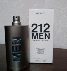 Тестер CAROLINA HERRERA 212 MEN