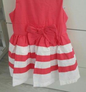 Новое летнее платье с подъюбником