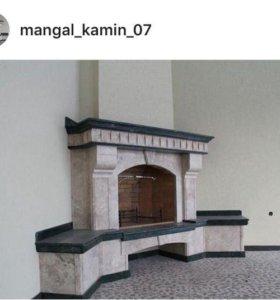 Камины и мангалы